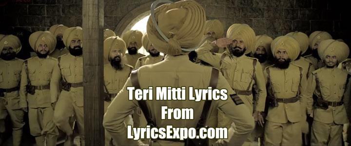 Teri Mitti Lyrics - Kesari
