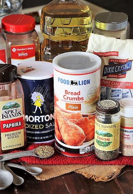 Homemade Shake & Bake Ingredients Image