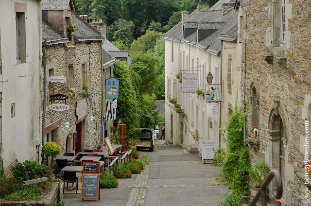 Rochefort-en-Terre viaje Bretaña