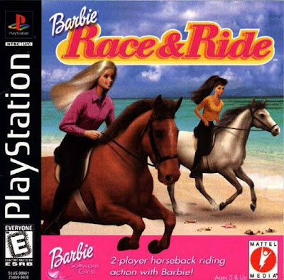descargar barbie race & ride psx mega