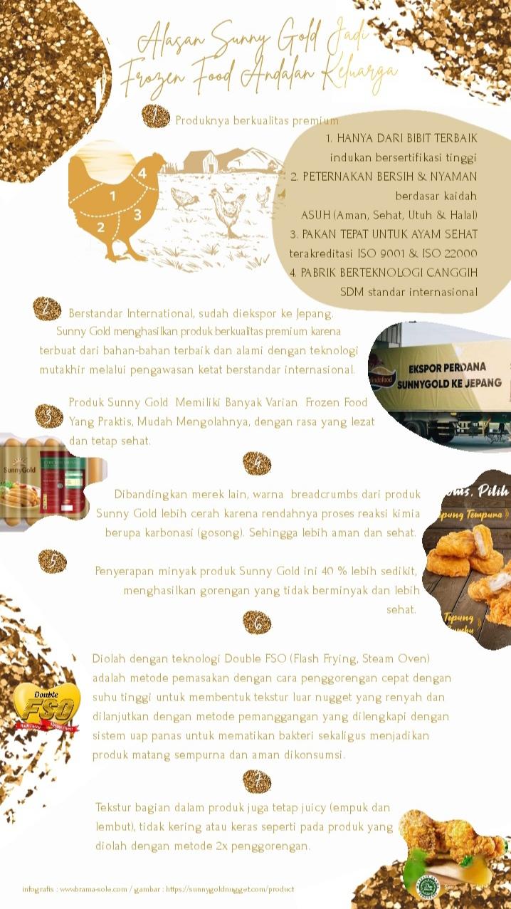 Keunggulan Produk Sunny Gold