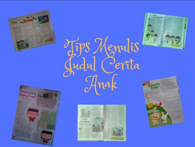 tips menulis cerita anak yang bagus dan menarik