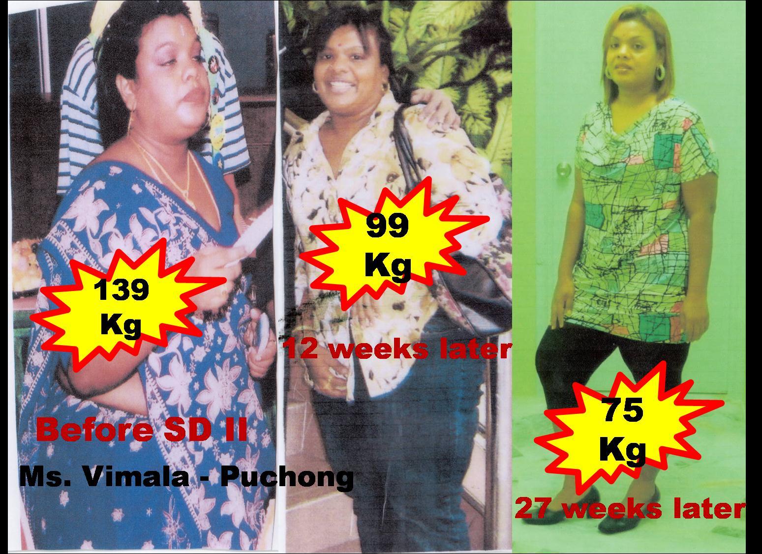 Kisah saya turun berat dari 78kg ke 54kg tanpa produk kurus