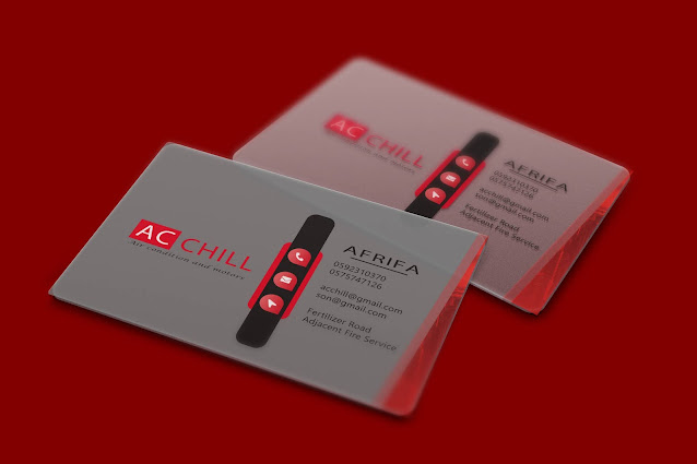 AC Chill Business Card