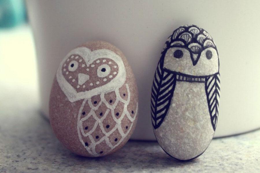 dibu ideas #diy con piedras (y alguna cosa más)