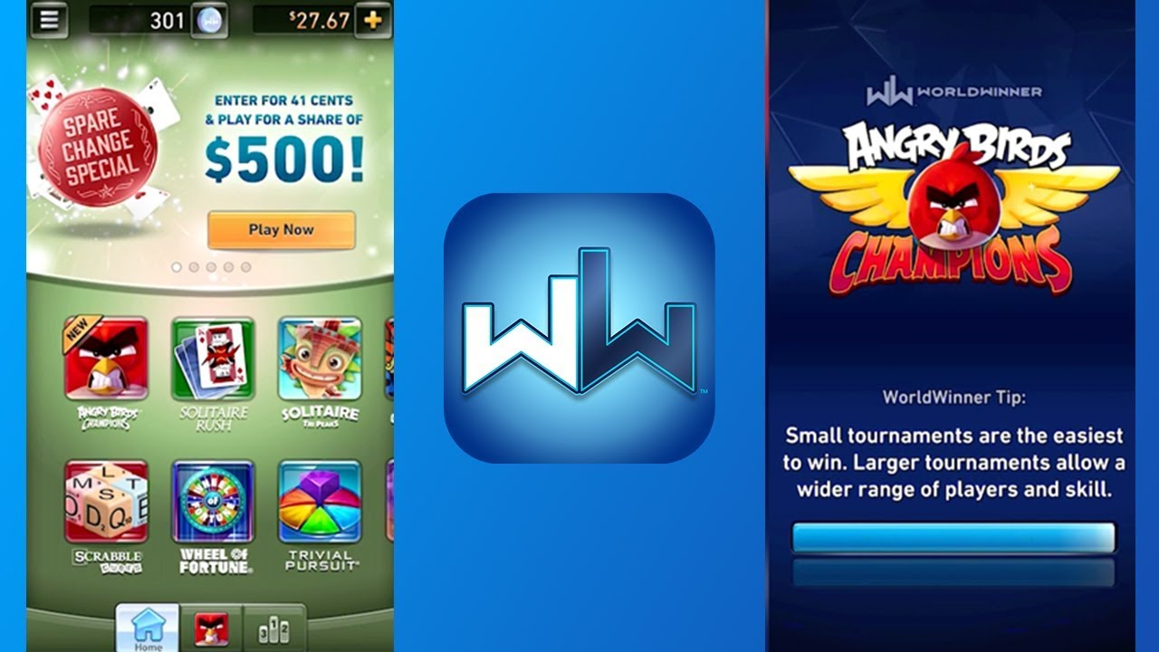 World Winner, a web and app-based gaming site.