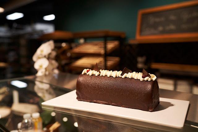 Boulangerie Jarry, bûche de Noël