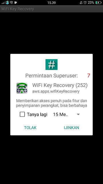Cara Melihat Password Wifi Yang Pernah Connect Di Hp Android 3
