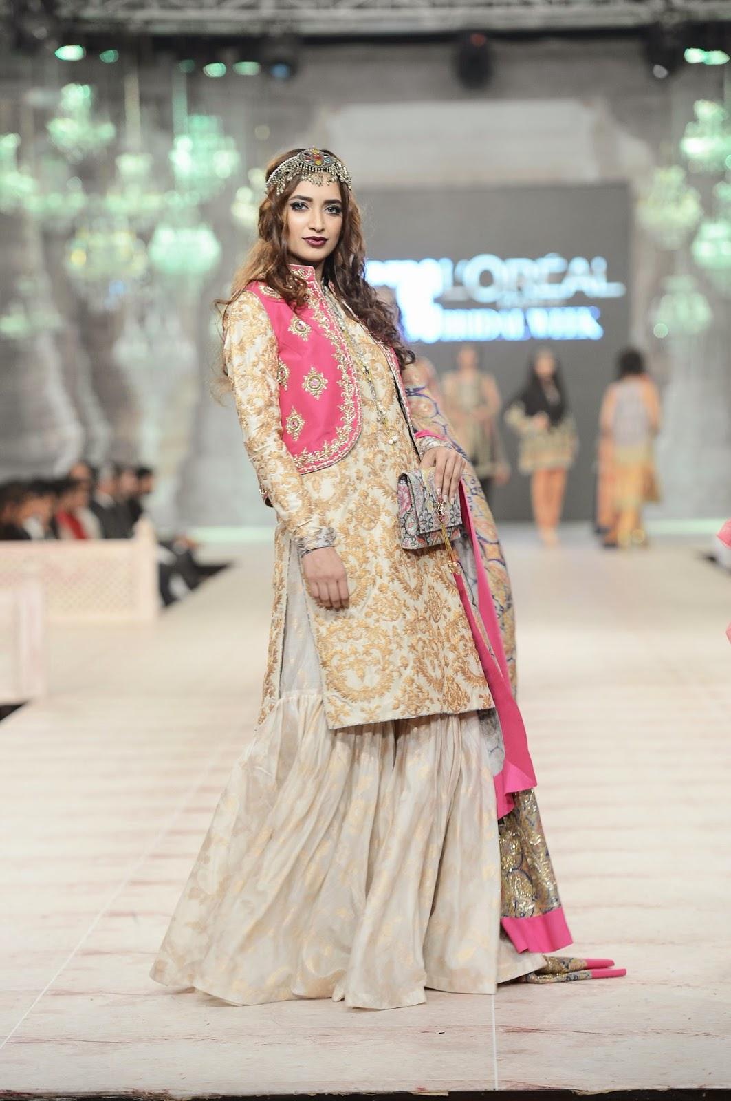 gold ivory bridal zara shahjahan