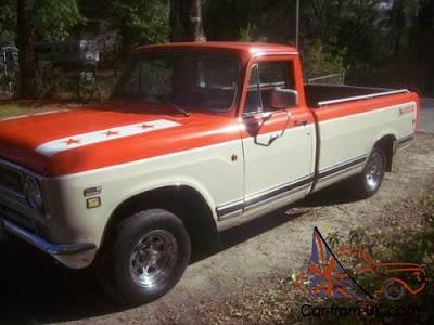 "1971 International Harvester ""Johnnie Reb"" Edition Pick-Up Truck"