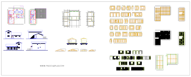 Housing balloon frame system DWG