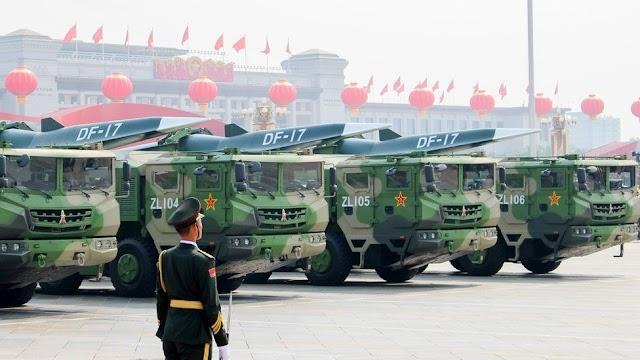 China denies testing atomic fit hypersonic rocket