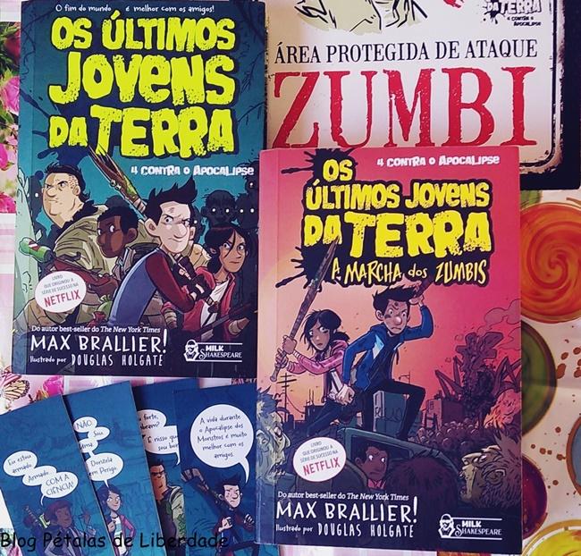 """Resenha: livro """"Os últimos jovens da Terra: A marcha dos Zumbis"""", Max Brallier, Faro Editorial, Blog Literário Pétalas de Liberdade"""