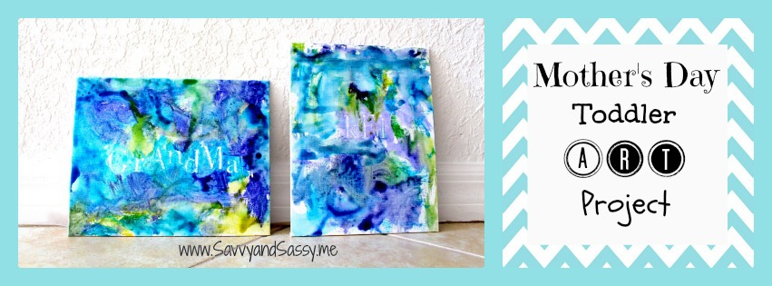 Savvy And Sassy Mother S Day Toddler Art Project Ideas