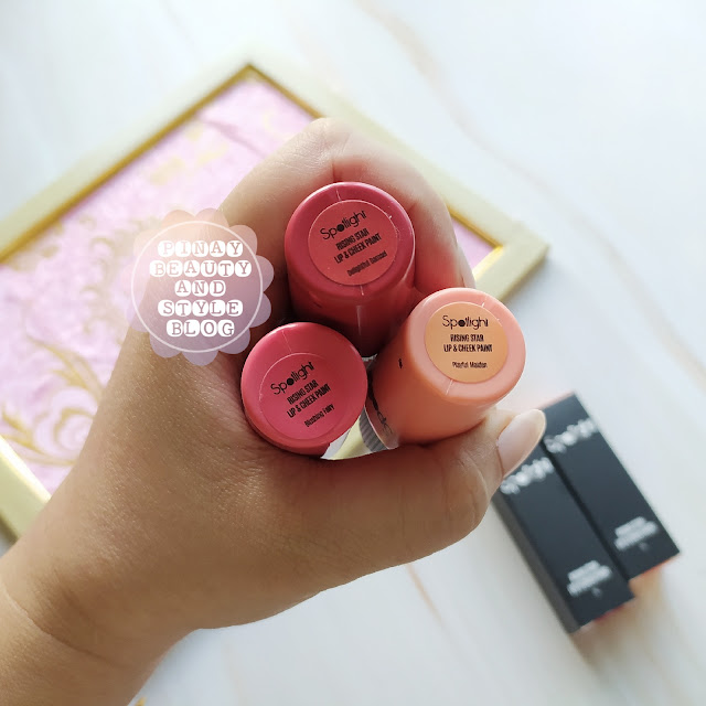 spotlight cosmetics lip and cheek paint review and swatches complete