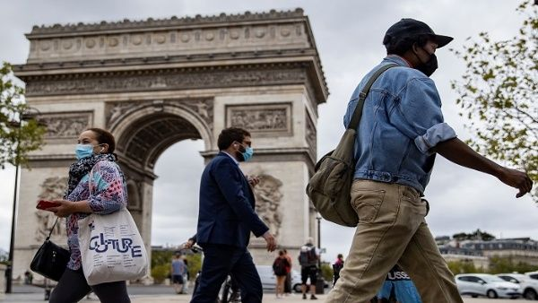 Francia reporta más de 7.300 nuevos casos de Covid-19 en 24 horas