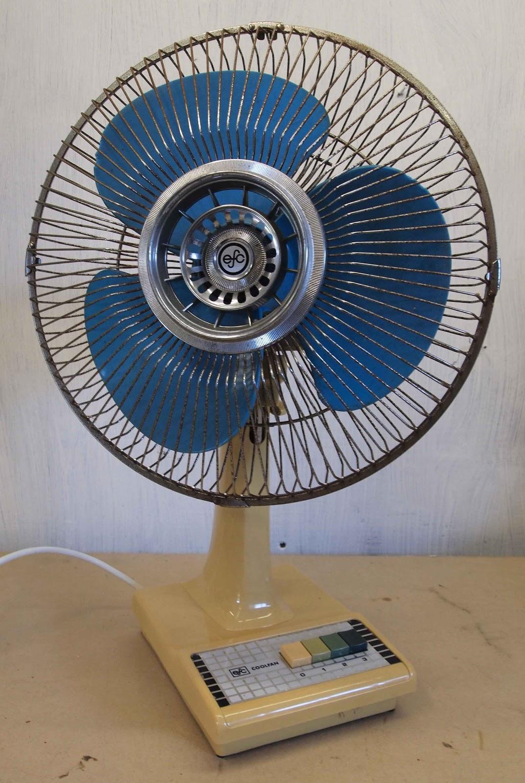 Springy Beard  Electric Fan