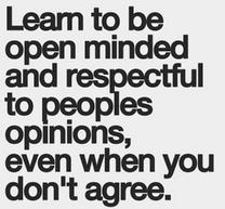 Postitve open minded quotes