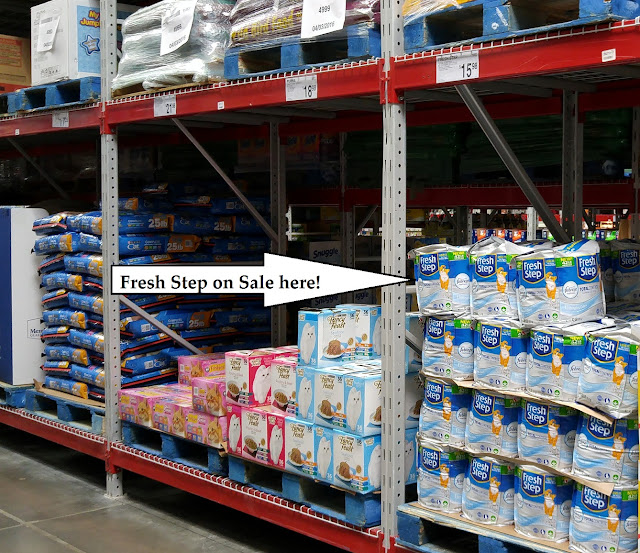 Fresh Step at Sam's Club #yougottabekittenme #Cbias #ad