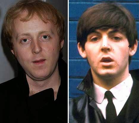 L Sir Paul McCartneys Son James