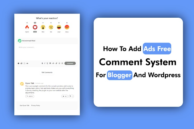 Disqus Alternative Free Comment System For Blogger | 2020