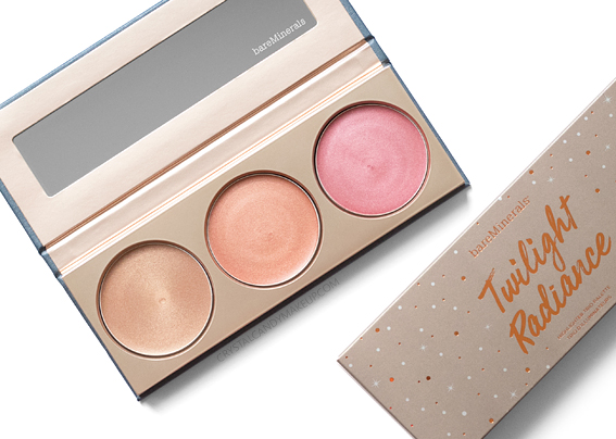 trio d'illuminateurs Twilight Radiance de bareMinerals avis revue