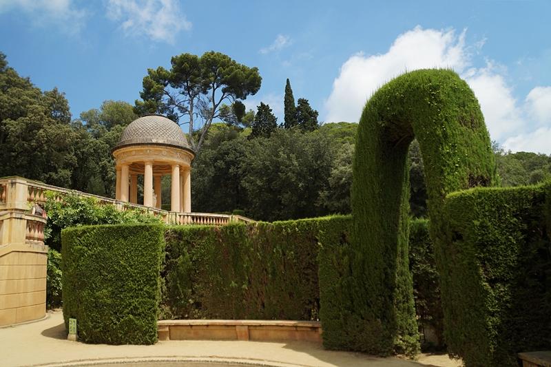 Parc del Laberint d'Horta Barcelona Irrgarten Labyrinth. Barcelona Tipps, Attraktionen, Sehenswürdigkeiten. Tasteboykott Reiseblog.