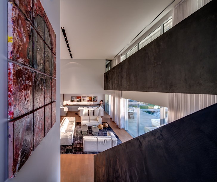 "Interior of Modern Villa ""Cubes"" In Tel Aviv"
