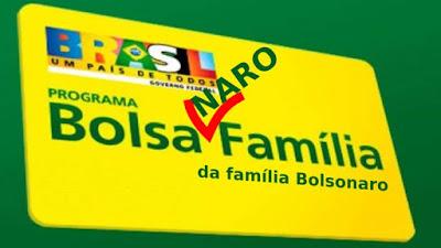 Carta Bolsa Naro da família Bolsonaro