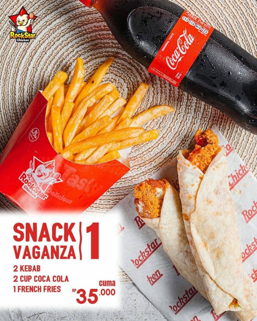 Promo Rockstar Chicken Paket Snack Vaganza 3
