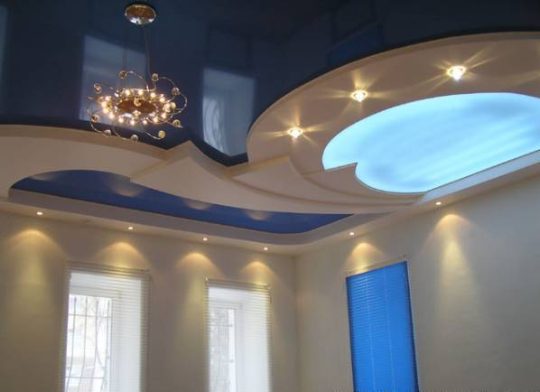 plaster of paris POP false ceiling idea with lighting along with POP wall art