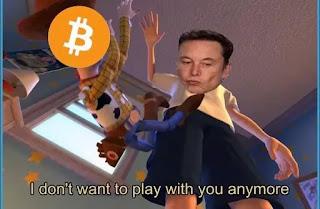 Elon Musk and Bitcoin meme
