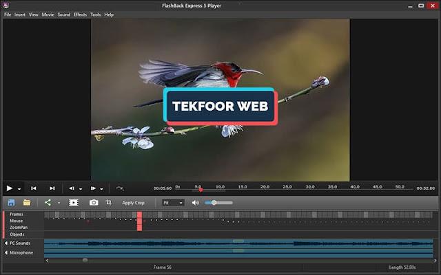 تحميل افضل برنامج تصوير الشاشة فيديو للكمبيوتر hd برنامج Flashback Express