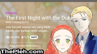 The First Night With the Duke Webtoon Naver