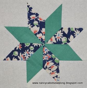 Four Point Star Quilt Pattern Lena Patterns