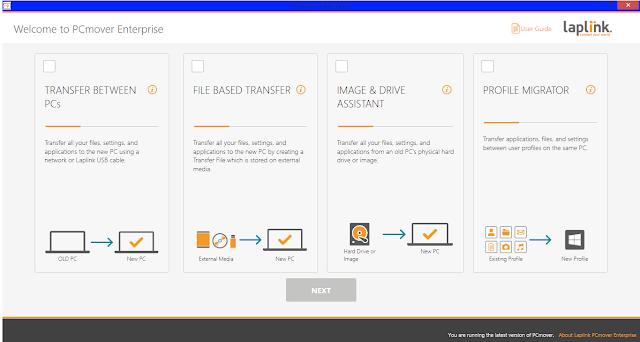 Screenshot PCmover Enterprise 11.1.1010.355 Full Version