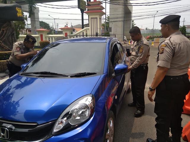 Mapolrestabes Palembang Perketat Keamanan