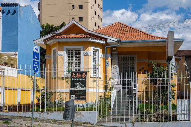 Fachada de casa na Rua Marechal Deodoro