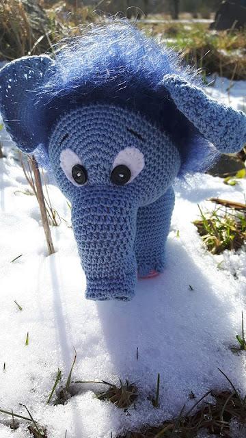 #mammoth #mammut #amigurumi #pattern #animal #loomad #boy #girl #handmade #heegeldatud #poiss #plika #softtoy #soft #toy