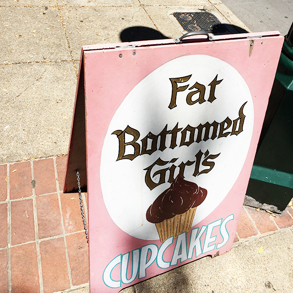 fat bottom girls, cupcake boutique