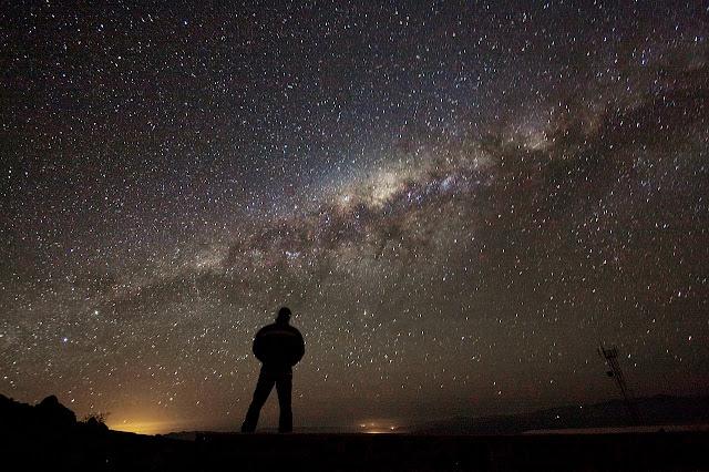 Existem milhões e milhões de estrelas visíveis da Terra