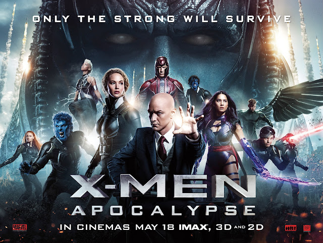 X-MEN : APOCALYPSE (2016) REVIEW