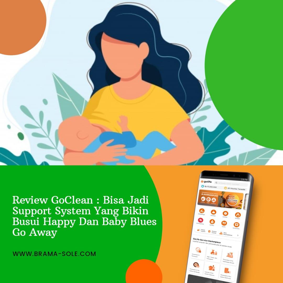 Review Goclean Bisa Jadi Support System Yang Bikin Busui Happy Dan Baby Blues Go Away Bramasole Travel Lifestyle Self Healing Journal