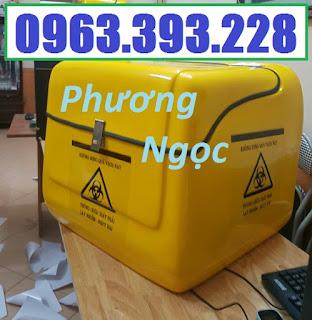 Thùng chở rác y tế, thùng vận chuyển chất thải y tế, thùng chở rác thải nguy hại TCCTYT5