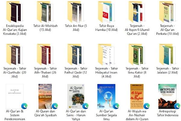 download kumpulan terjemah tafsir alquran jalalain