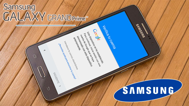 Eliminar cuenta Google Samsung Galaxy Grand Prime