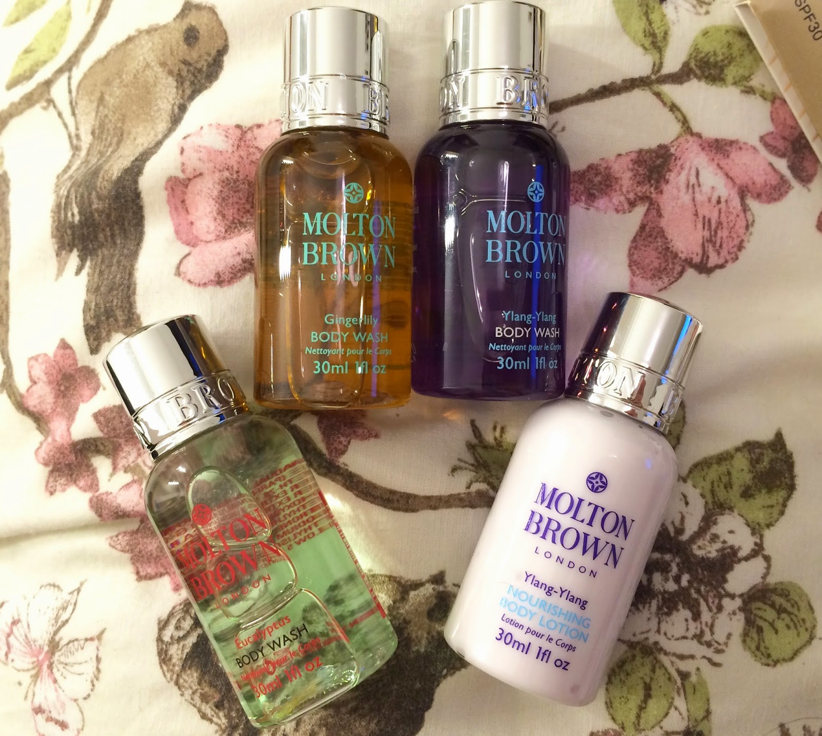 Molton Brown testers