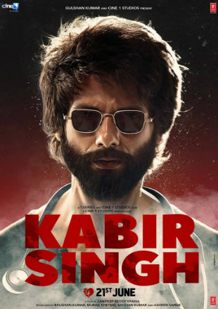 Kabir Singh 2019 Full Hindi Movie Download DVDRip 720p