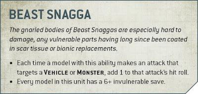 reglas Beast snaggas 9a edición