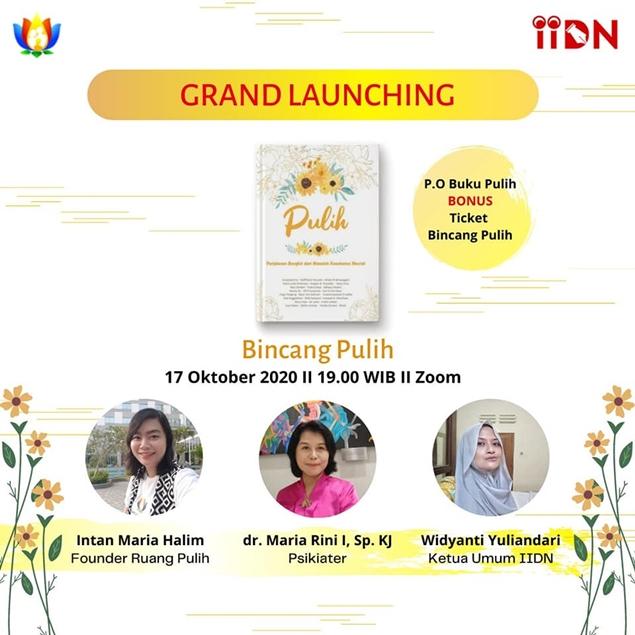 Grand Launching Buku Antologi PULIH